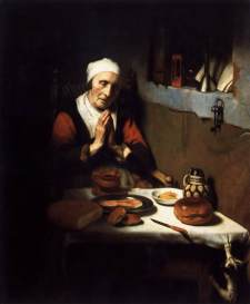 Nicolaes_Maes_-_Old_Woman_Saying_Grace_-_WGA13820